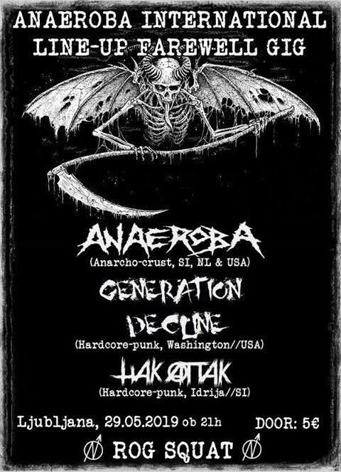 Anaeroba, Generation Decline, Hakattack