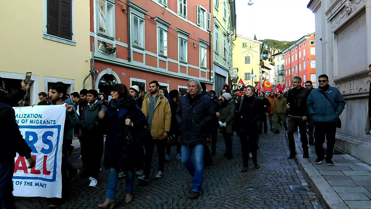 Transnational demonstration for Europe of all! In Gorizia